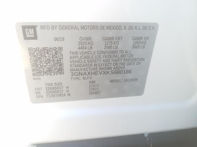 3GNAXHEVXKS680186