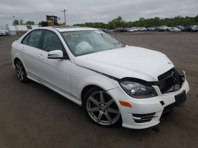 Mercedes-Benz salvage cars for sale: 2014 Mercedes-Benz C 300 4matic