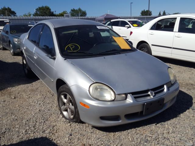 Dodge Neon salvage cars for sale: 2002 Dodge Neon