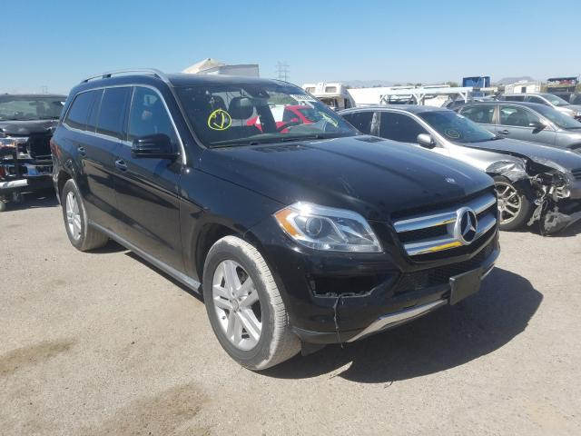 Mercedes-Benz GL 450 4matic salvage cars for sale: 2016 Mercedes-Benz GL 450 4matic