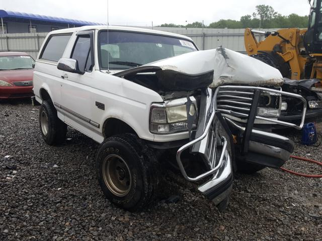 Ford Bronco U10 salvage cars for sale: 1995 Ford Bronco U10