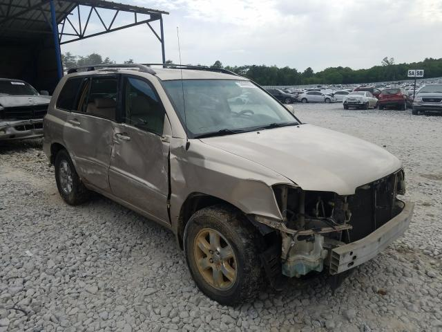 Salvage cars for sale from Copart Cartersville, GA: 2004 Toyota Highlander