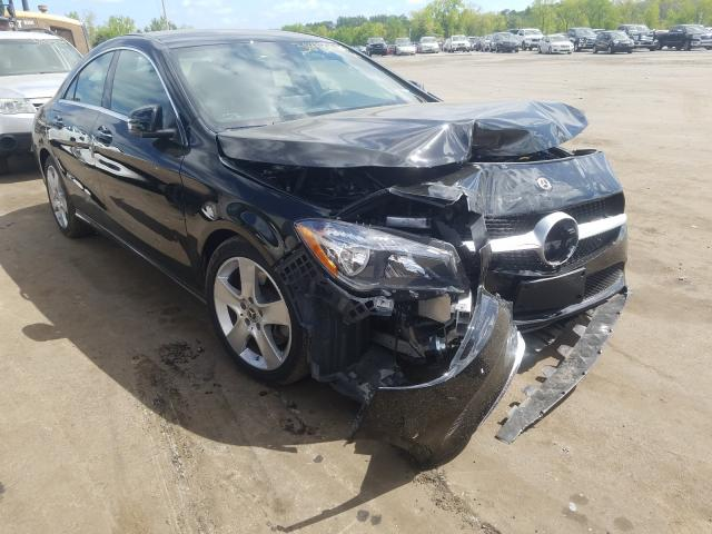 Salvage cars for sale at New Britain, CT auction: 2018 Mercedes-Benz CLA 250 4M