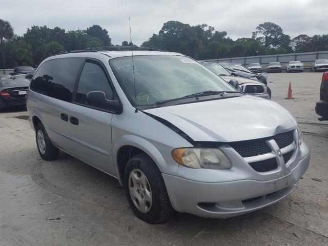 Salvage cars for sale from Copart Fort Pierce, FL: 2002 Dodge Grand Caravan