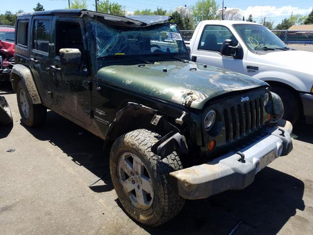Jeep Wrangler U salvage cars for sale: 2008 Jeep Wrangler U