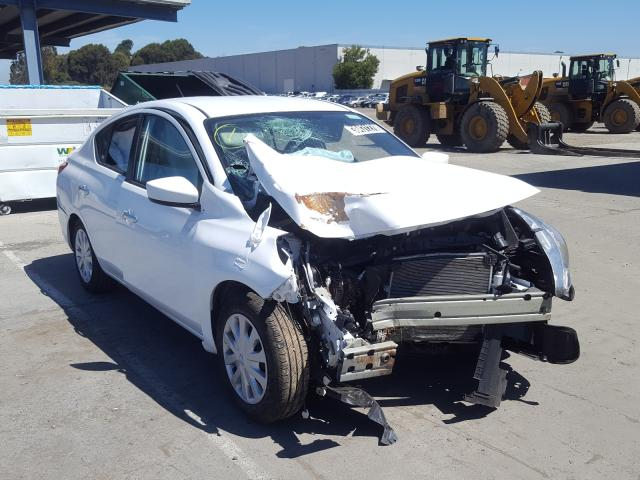 Salvage cars for sale from Copart Hayward, CA: 2019 Nissan Versa S