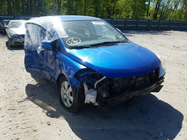 Salvage cars for sale from Copart Candia, NH: 2007 Nissan Versa S