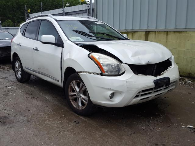 Salvage cars for sale from Copart Hampton, VA: 2012 Nissan Rogue S
