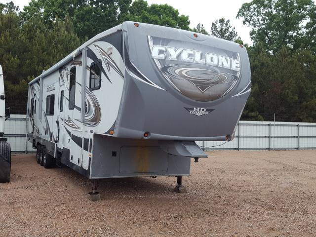 Camp salvage cars for sale: 2013 Camp 5th Wheel