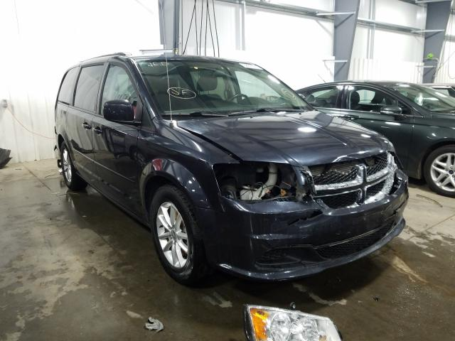 Vehiculos salvage en venta de Copart Ham Lake, MN: 2014 Dodge Grand Caravan