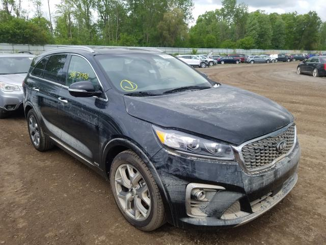 KIA Sorento SX salvage cars for sale: 2020 KIA Sorento SX