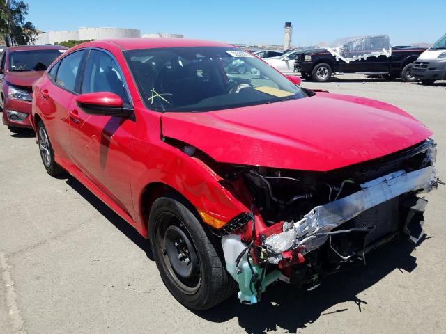 Honda Civic LX salvage cars for sale: 2019 Honda Civic LX