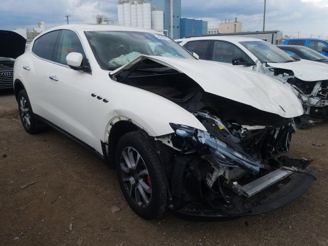 Maserati Levante salvage cars for sale: 2018 Maserati Levante