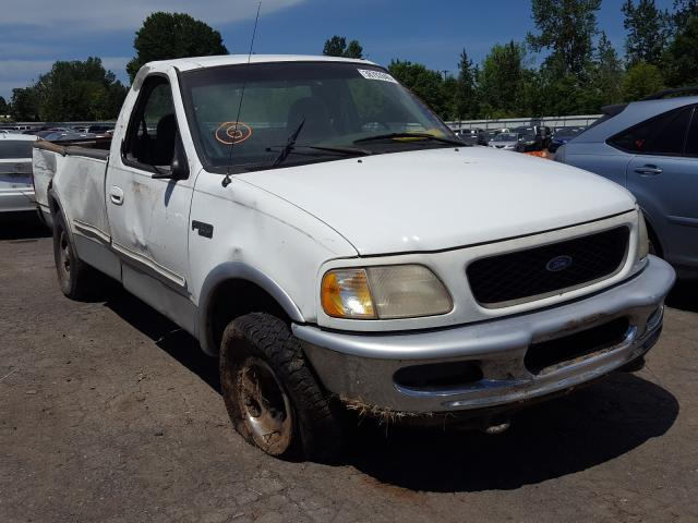 Ford F150 salvage cars for sale: 1997 Ford F150
