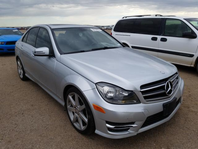 Salvage cars for sale from Copart Amarillo, TX: 2014 Mercedes-Benz C 250