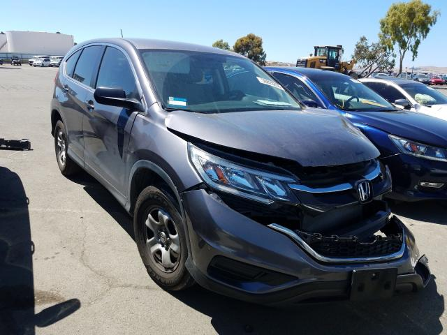 2016 Honda Cr-V Lx 2.4L, VIN: 3CZRM3H38GG702787