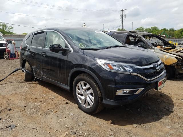 Salvage cars for sale from Copart Hillsborough, NJ: 2016 Honda CR-V EX