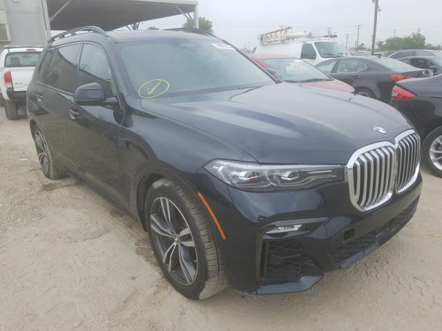BMW X7 XDRIVE4 salvage cars for sale: 2019 BMW X7 XDRIVE4