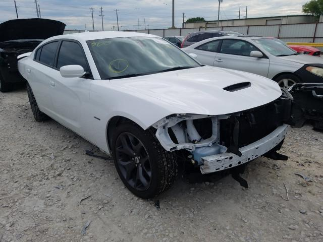 Salvage cars for sale from Copart Haslet, TX: 2019 Dodge Charger R