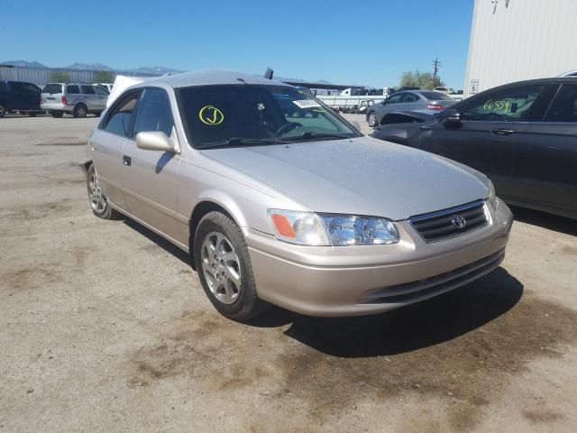 Toyota salvage cars for sale: 2001 Toyota Camry LE