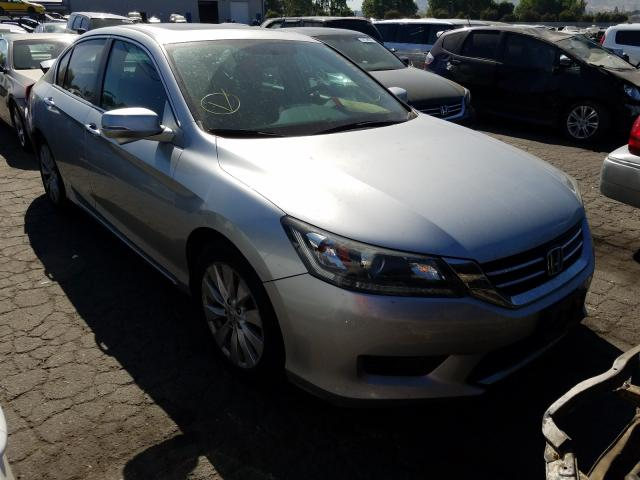 Salvage cars for sale from Copart Colton, CA: 2015 Honda Accord EX