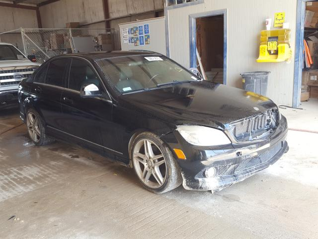 Salvage cars for sale from Copart San Antonio, TX: 2008 Mercedes-Benz C 350