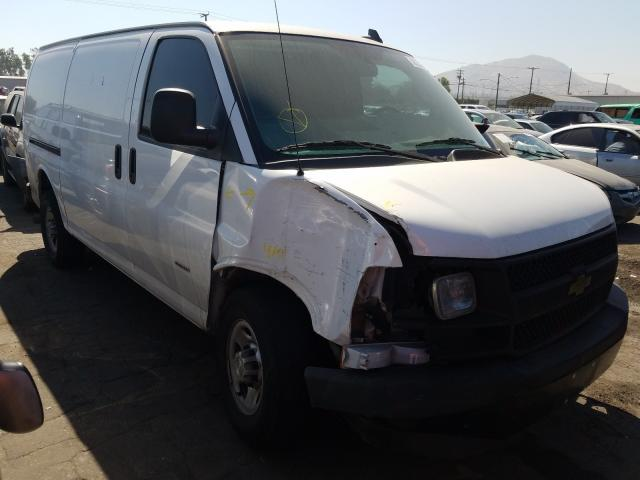 Salvage cars for sale from Copart Colton, CA: 2017 Chevrolet Express G3