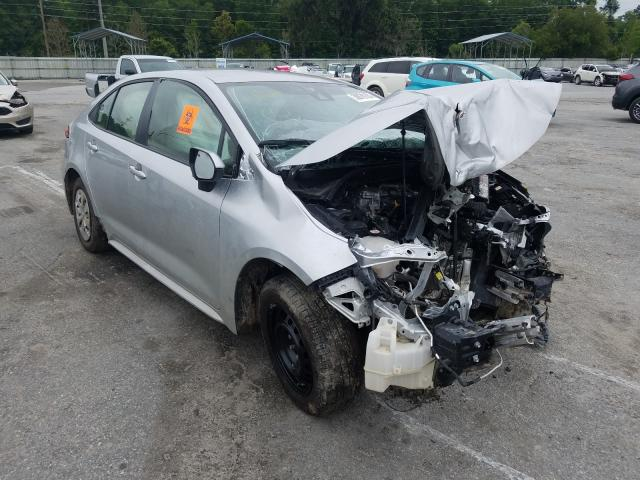 Salvage cars for sale from Copart Savannah, GA: 2020 Toyota Corolla L