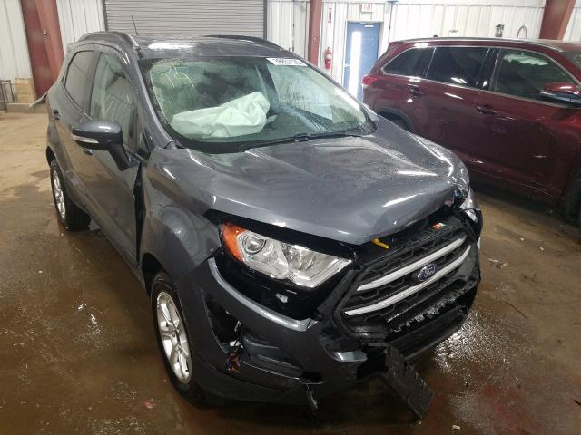 Salvage cars for sale from Copart Lansing, MI: 2019 Ford Ecosport S
