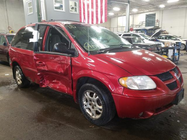 Dodge Caravan SP salvage cars for sale: 2003 Dodge Caravan SP