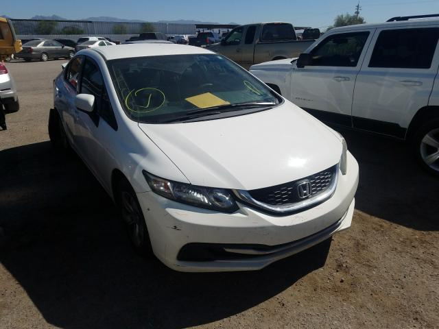 Salvage cars for sale from Copart Tucson, AZ: 2014 Honda Civic LX