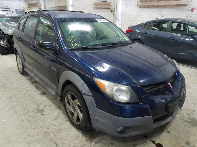 Salvage cars for sale from Copart Fredericksburg, VA: 2004 Pontiac Vibe