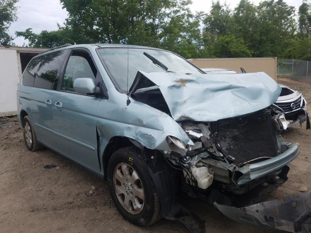 Salvage cars for sale from Copart Baltimore, MD: 2004 Honda Odyssey EX