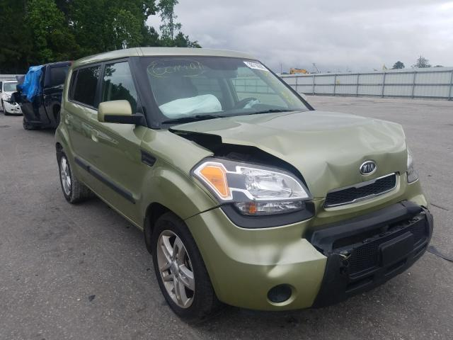 Salvage cars for sale from Copart Dunn, NC: 2010 KIA Soul +