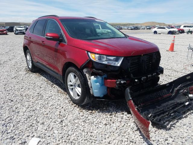 Ford Edge SEL salvage cars for sale: 2015 Ford Edge SEL