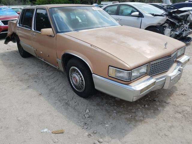 Cadillac Deville salvage cars for sale: 1990 Cadillac Deville