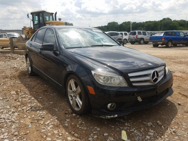 Salvage cars for sale from Copart Oklahoma City, OK: 2010 Mercedes-Benz C 300 4matic
