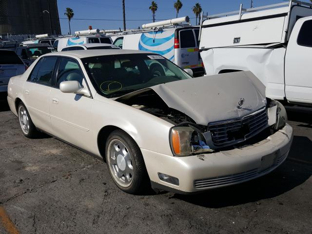 Cadillac Deville salvage cars for sale: 2001 Cadillac Deville