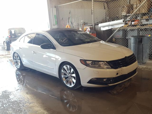 Salvage cars for sale from Copart San Antonio, TX: 2013 Volkswagen CC Luxury