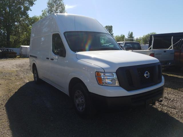 Nissan NV 2500 S salvage cars for sale: 2019 Nissan NV 2500 S