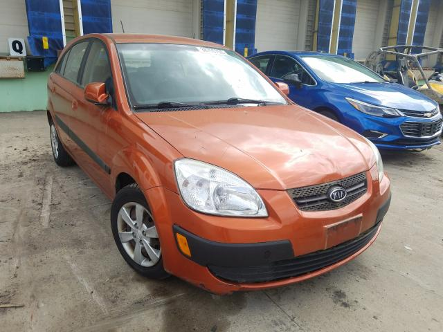 KIA Rio 5 SX salvage cars for sale: 2009 KIA Rio 5 SX