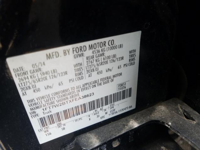 1FT7W2BTXFEA38623 2015 FORD F250 SUPER DUTY