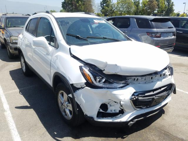 Chevrolet Trax 1LT salvage cars for sale: 2018 Chevrolet Trax 1LT