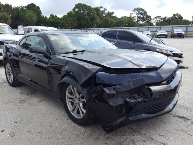 Salvage cars for sale from Copart Fort Pierce, FL: 2015 Chevrolet Camaro LS