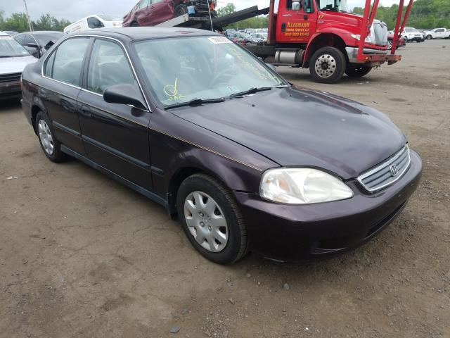 Honda salvage cars for sale: 2000 Honda Civic LX