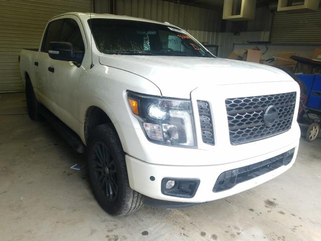 Nissan Titan Platinum salvage cars for sale: 2019 Nissan Titan Platinum