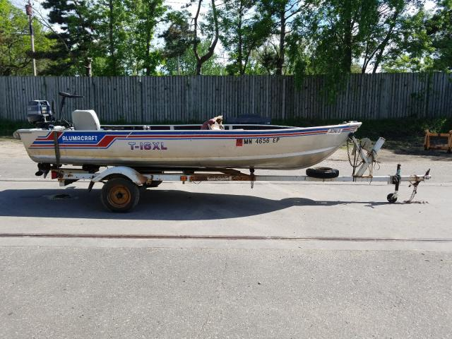 Alumacraft salvage cars for sale: 1982 Alumacraft Boat