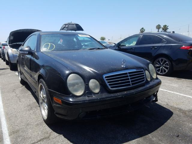 Mercedes-Benz CLK 430 salvage cars for sale: 2000 Mercedes-Benz CLK 430