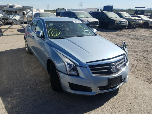 Salvage cars for sale from Copart Tucson, AZ: 2013 Cadillac ATS