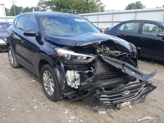 Hyundai Tucson SE salvage cars for sale: 2017 Hyundai Tucson SE